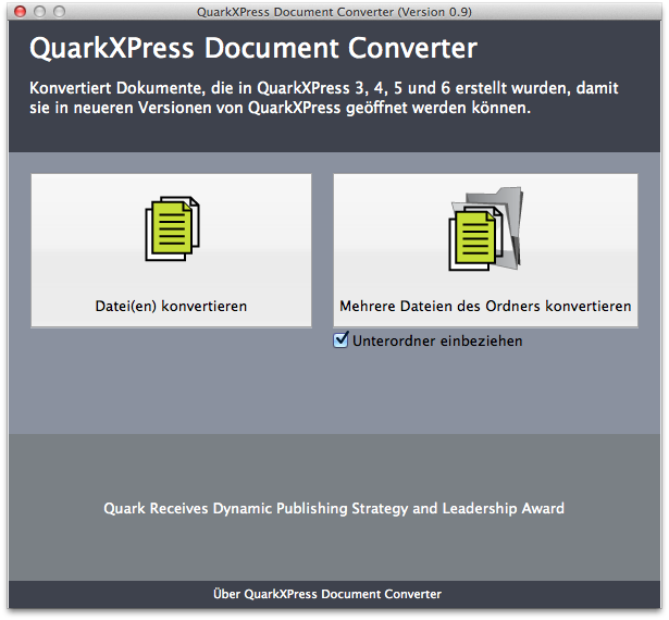 QuarkXPress-Document-Converter