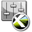 Preferences-Icon von QuarkXPress 8